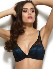 dde64a02c35 Gossard VIP Olympia 11901 Underwired High Apex Plunge MOULDED Lace T-shirt  Bra 36 DD