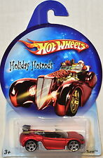 HOT WHEELS HOLIDAY HOTRODS TRAK-TUNE RED