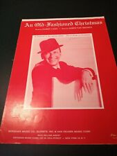 An Old-Fashioned Christmas Sheet Music Frank Sinatra Near Mint!���