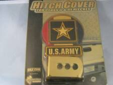 """United States Air Force Military """"Pewter Look"""" Metallic Hitch Cover"""