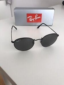 Ray Ban Round Metal Sonnenbrille - schwarz - polarisiert - Größe Standard 50/21