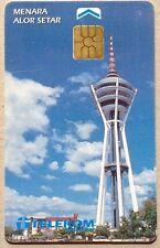 Malaysia Used Phone Cards - Menara Alor Setar
