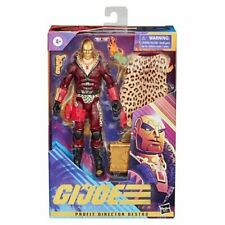 "IN STOCK G.I. Joe Classified Series 6"" AF Profit Director Destro GOLD Exclusive"
