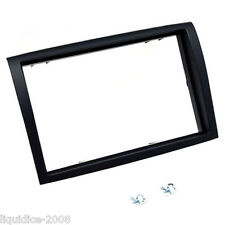 CT24FT23 FIAT DUCATO 2006 to 2011 BLACK DOUBLE DIN FASCIA FRAME ADAPTER ONLY