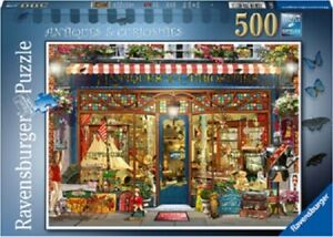 Ravensburger 500 Piece Jigsaw Puzzle - Antiques & Curiosities