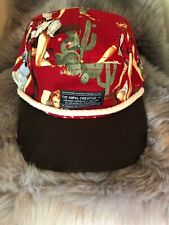 The Ampal Creative Red Cowgirl Strapback Hat