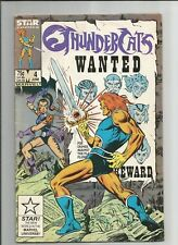 THUNDERCATS #4 FN+ FINE+ WHITE PAGES STAR COMICS COPPER AGE 1986