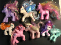 Lot Of 8 VINTAGE COLLECTION 2002-2010 Hasbro My Little Pony's