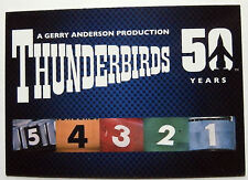 THUNDERBIRDS 50 YEARS - Card #1 - Gerry Anderson - Unstoppable Cards Ltd 2015