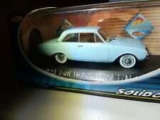 SOLIDO 1/43 NR. 4581 Ford Taunus Coupe 17m 1960 hellblau OVP (124)