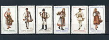 National Costumes Art Paintings 1969 Romania MNH stamps set