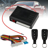 Car 12V Power Door Lock / Unlock Remote Control Central Kit Keyless Entry System