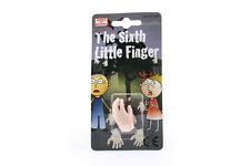 Mini plastique marionnette sixième petit doigt nouveauté blague april fools halloween farce