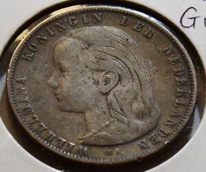 Netherlands  1897 Gulden   N0030 combine shipping