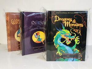 Monsters Dragons, Fairies, Gods Heros, Pop Up Book Lot, Matthew Reinhart  New