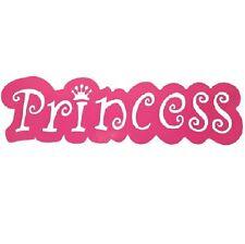 L66cm Metal Wall Art Wall Hanging Plaque Decor Princess Sign Kids Girls Bedroom
