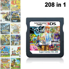 New 208 in1 Video Game Cartridge Multicart for Nintendo DS NDS NDSL NDSi 2DS 3DS