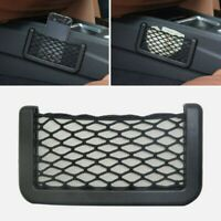 Universal Car Storage Net String Pouch Bag GPS Phone Holder Pocket Organizer NEW