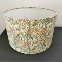 NEW HANDMADE LAMPSHADE -Golden lily  by WILLIAM MORRIS VINTAGE