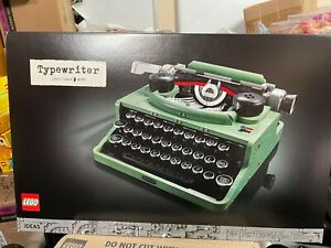 ⭐LEGO IDEAS Typewriter 21327 *IN HAND* *NEW* *FACTORY SEALED* *FREE SHIPPING*⭐