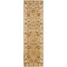 Safavieh Bergama Taupe/Ivory Wool Rug 2' 3 x 10' Runner