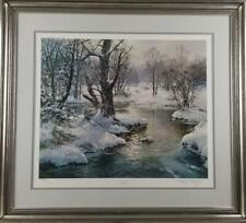 Charles Vickery ' Hush of Winter ' Signed Print
