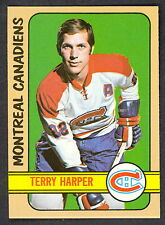 1972 73 TOPPS HOCKEY #119 TERRY HARPER NM DIFF POSE FROM OPC MONTREAL CANADIENS
