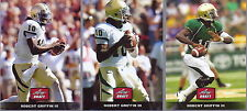 "ROBERT GRIFFIN III ""RG3"" 2012 LEAF DRAFT DAY ""3 CARD"" ROOKIE CARD INSERT LOT!"