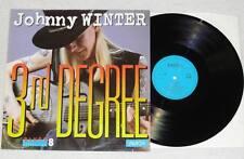 Johnny winter 3rd degree Amiga LP vinyle Blues 1988 * top