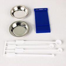 [GSHOBBY] Set of 3 (Paint Plate / Spoon / Parts Separator) [GUNDAMSHOP]