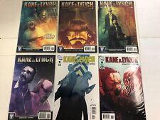 Kane & Lynch #1 2 3 4 5 6 Comic Book Set DC WildStorm 2010