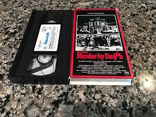 Murder By Death VHS! 1976 Northern CA Spook House! Pink Panther Clue Ace Ventura
