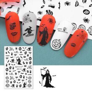Nail Art Sticker Card Halloween Waterproof Nail Art