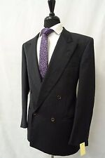 Chemise homme VALENTINO Anthracite Double Breasted Suit 40R W32 L31 CC5154