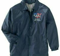 ROXBURY-NEW JERSEY*PORT AMERICANA LOGO*EMBROIDERED 1-SIDED STAFF JACKET