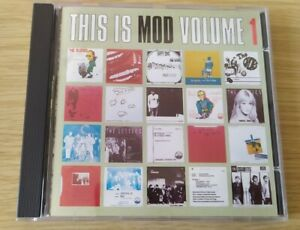 CD This Is Mod Volume 1 Compilation Anagram Records The Nips The Circles The Odd