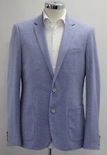Men's Harry Brown, Light Blue patterned casual blazer (40R).. sample 2411