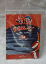 Spinner Bob-it  # 6 hook, red and white, etic #761486 (ref#bte17)