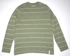 New Burton Boys Stowe Knit Cotton Wool Casual Sweater Size Medium 10/12