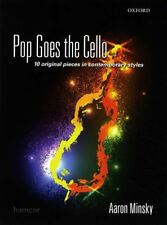 Pop Goes The Cello Sheet Music Book 10 Original Pieces by Aaron Minsky