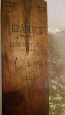 Vintage 1938 Gradidge Len Hutton Autograph Cricket Bat