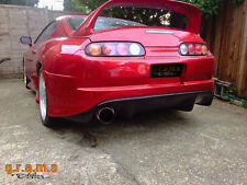Toyota Supra Trial Style Rear Bumper with Diffuser / Undertray for Body Kit v4