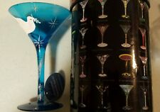 "Lolita ""Peace On Earth"" Martini Glass Retired-New In Box with tag, GORGEOUS!"