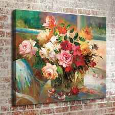 """16""""x20"""" Peony Flower Room Home Decor HD Canvas prints Picture Wall art Painting"""