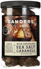 Sanders Milk Chocolate Sea Salt Caramels 36 OZ - Made w/Kettle Cooked Caramel