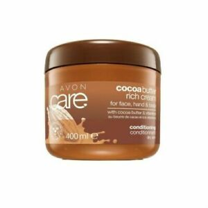 Avon Care Cocoa Butter Rich Family Cream For Face,Hand,Body 400ml Brand New