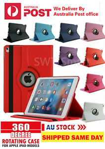 360 Rotate Leather Case Cover For Apple iPad4/3/2 7th 8th 6th Gen Air1/2 Mini3/2