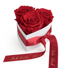 Infinity Rosenbox Herz Rosenherz ewige Rosen konserviert Ich liebe Dich Geschenk
