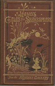 Tales from Shakespeare - Charles & Mary Lamb Collectible HB 1877 Boydell Gallery