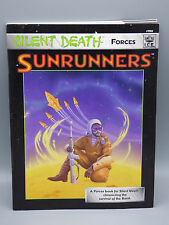 Silent Death Forces Sunrunners  RPG Roleplaying Game Book ICE 7211